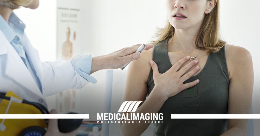 asma allergica radiografia torace